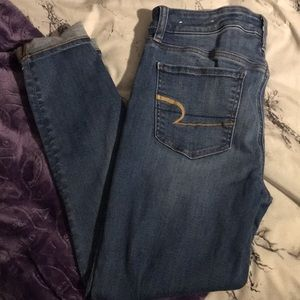 AEO Blue Jeans